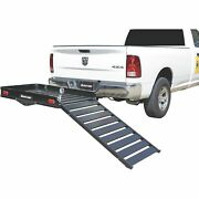 Ultra-tow Aluminum Cargo Carrier With Ramp- 500lb Capacity- 60inl X 30inw X 4inh