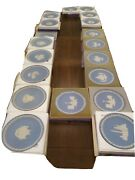 Blue Wedgwood Christmas Plates. Do You Take From 1970 Through 1979 And 1980...