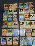 Pokemon Card Collection Card Lot Base Set Gym Heroes See Description With 2 Tins
