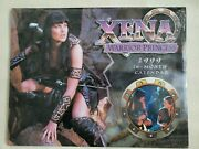 Xena Warrior Princess 1999 Use In 2021 16 Month Calendar New Sealed