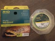 Rio Grand Fly Line - Wf3f - Pale Green/lt Yellow - Brand New Free Shipping