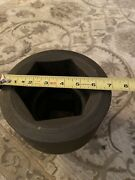 Snap On 2-1/2 Drive 6-point Sae 4-3/8 Flank Drive Shallow Impact Socket-im1409