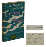 A Gift From The Sea Signed By Anne Morrow Lindbergh First Edition 1st 1955