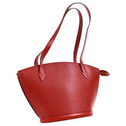 Louis Vuitton Saint Jacques Long Shoulder Tote Bag Epi M52337 As1010 A44010c