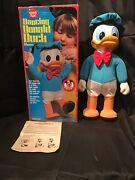 Vintage Hasbro Romper Room Dancing Donald Duck Mickey Mouse Club. T