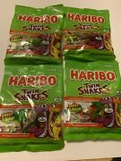 Haribo Twin Snakes Gummy Candy Lot Of 4