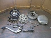 Harley Davidson Sprint Ss 350 350 250 Clutch Assembly And Cover Gear Shifter