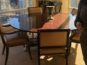383 Karges 72 Regency Dining Table With 6 348 Councill Chairs