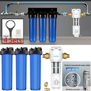 4.5x20 Water Filter Housing For Whole House System Spin Down Pre-water Filters