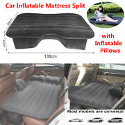 Car Inflatable Mattress Portable Travel Suv Seat Air Bed Cushion Camping Outdoor