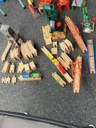 Huge Lot Of 500+ Thomas The Train Engines Track And Accessories Rail Cars