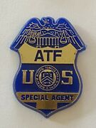 Us Atf Bureau Of Alcohol Tobacco And Firearms Special Agent Pin Badge