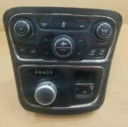 2015-2017 Chrysler 200 Center Console Gear Shifter Climate Control Panel Oem