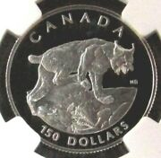 1995 Platinum Canada 762 Minted 150 Ngc Proof 69 Uc Endangered Series Lynx