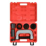 10pcs 4 In 1 Ball Joint Press And U Joint Removal Tool Kit With 4x4 Adapters +case