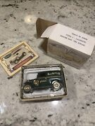 Henryand039s Lady Ford Model A Die Cast Bank In Tin Sears Roebuck Boxed Vintage New