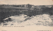 Bellows Falls Vermont 1900-1910and039s Arch And Toll Bridges Tuck No. 1078