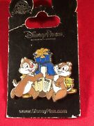 1 Disney Chip And Dale 3d Swivel Pin See Saw Dreidel As Seen. Lot E