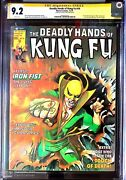 1st White Tiger Ayala Deadly Hands Of Kung-fu 19 Cgc 9.2 Ss George Pandeacuterez Movie