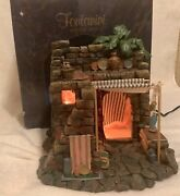 Fontanini Roman 5 Collection Lighted Pottery Shop 50256 W/ Box
