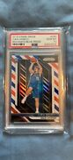 2018-19 Panini Red White Blue Prizm 280 Luka Doncic Rc Rookie Psa 10 Gem Mint