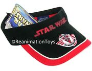 Star Wars Aotc Jedi Starfighter Hat Summer Beach Sunvisor Cap Nwt New With Tags