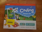 Osmo Coding Starter Kit For Ipad Ages 5 - 10 Stem Brand New And Sealed