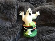 Midwest Of Cannon Falls Creepy Hollow Halloween Series Ghost In Cauldron