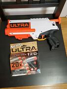 Nerf Ultra Four Blaster With 20 New Darts New No Box