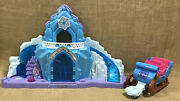 Fisher Price Little People Disney Frozen Elsaand039s Ice Palace Castle And Sleigh