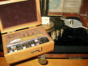Vintage Set Scale Weights, Wood Box 511 Scientific Precision, Analytical