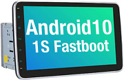 Vanku 101 Android 10 Car Stereo Double Din With 1s Fastboot Gps Wifi Auto