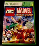 Lego Marvel Super Heroes Xbox 360 Brand New Factory Sealed Video Game Avengers