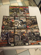 Cycle Source American Iron Lot Of 8 Motorcycle Magazines