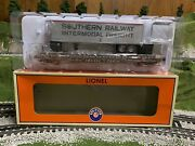 🚂lionel Ttx Ps-4 Flat Car W/ 40' Southern Trailer Real Wood Deck 6-84874 Train