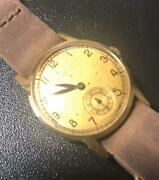 Benrus 14k Gold Military Hand Winding Analog Watch Menand039s Used Vintage Antique
