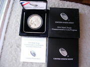 Mark Twain 2016 Proof Silver Dollar Commemorative With Ogp Packaging - L34