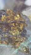 100 Real Gold And Silver Ore. Free Shipping. Pan, Sluice, Gold Cube, Crush