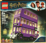 Lego The Knight Bus 75957 Harry Potter Wizarding World New Sealed Minifigures
