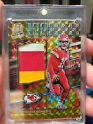 2019 Spectra Afterburners Orange Refractor Patrick Mahomes /10...... Awesome