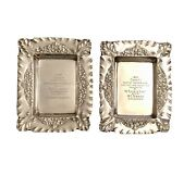 Antique Sterling Silver-plated 1894 Playing Card Engraved Trophies