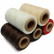 Leather Waxed Thread Cord For Diy High Quality Durable 240 Meters 1mm 150d