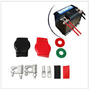 1 Set Of Universal Zinc Alloy Battery Terminal Top Wiring Kit For Ship Rv Car