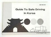 Korea Military Guide To Safe Driving Book Usfk Pam 385-2 1983 Overseas Duty