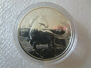 2014 1oz British Royal Mint Lunar Year Of The Horse Mule Error .999 F.s. Coin