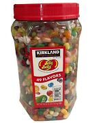 Kirkland Signature Jelly Belly Jelly Beans 49 Gourmet Flavors 4 Pounds 64 Oz