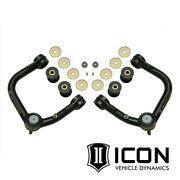 Icon Tubular Delta Joint Upper Control Arms For 2005-2015 Toyota Tacoma 6-lug