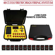 48 Cues Wireless Fireworks Firing System Remote Control Fire Control Equipment