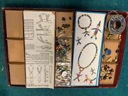 Vintage 1938 Walco Bead Jewelry And Marionettes Outfit No. 1810