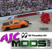 Functional Scale Rc Car Parachute Kit For Dr10 Drag Car/slash 2wd 4wd Speed Run